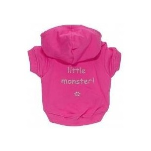 Little Monster Hoodie Pink M