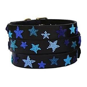Kralen halsband Indigo Star (40 cm)