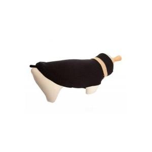 Sweater zwart/beige, maat 30 cm