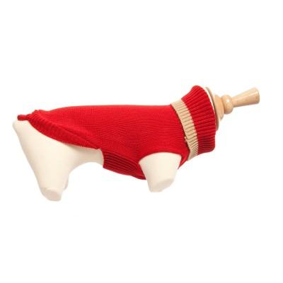 Sweater rood, maat 24 cm