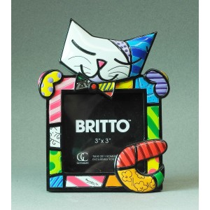 Britto photoframe Cat