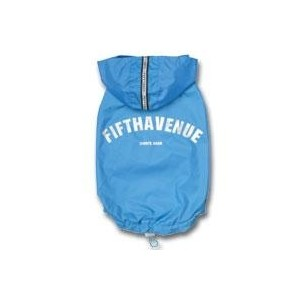 Fifth avenue raincoat blue S