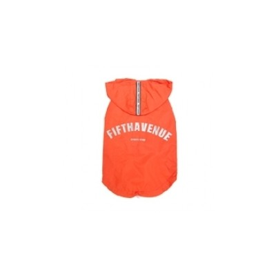 Fifth avenue raincoat red