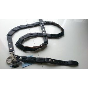Dogs Department Halsband en riem (32 cm)